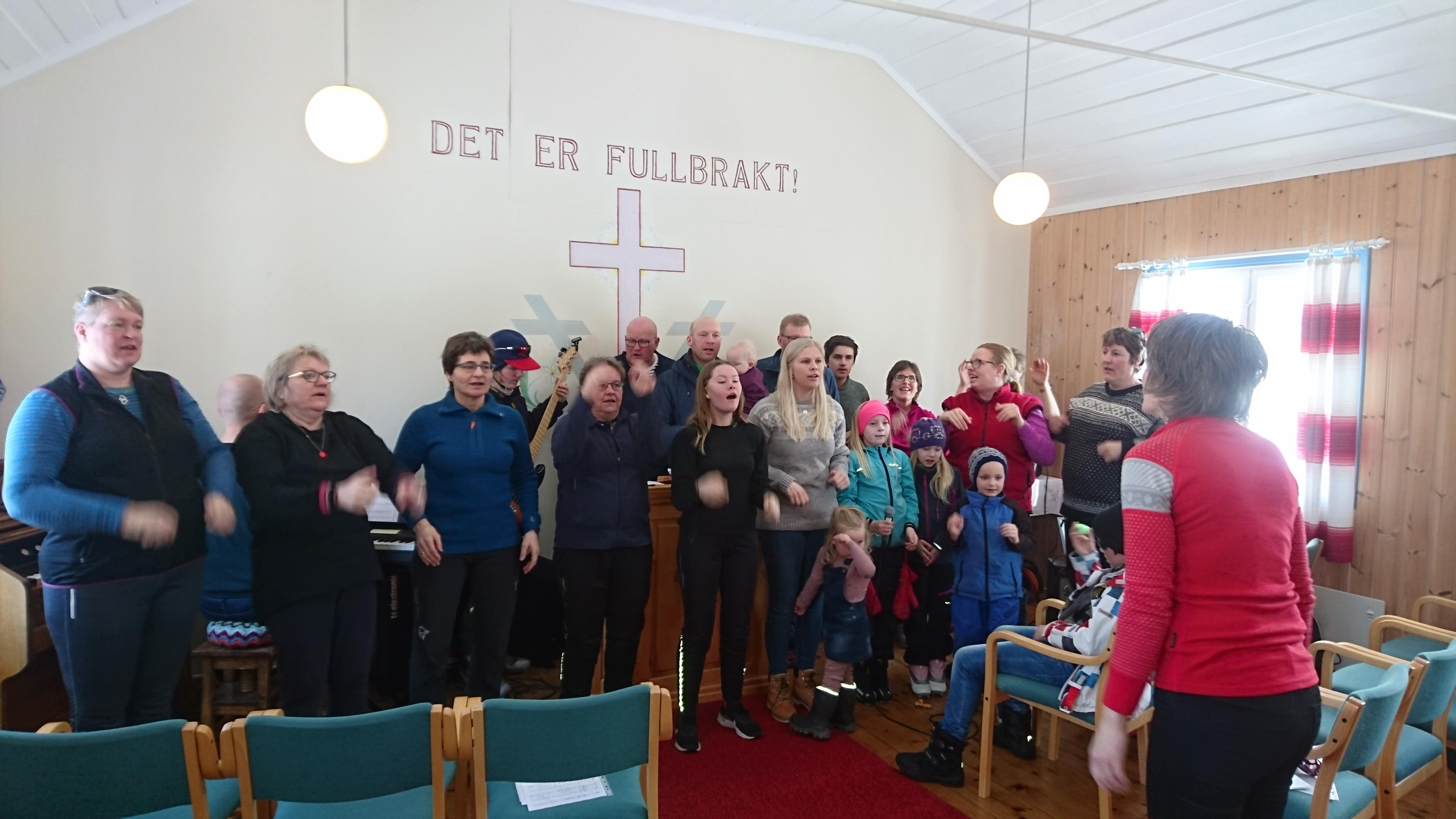 Familiemøte i Betel