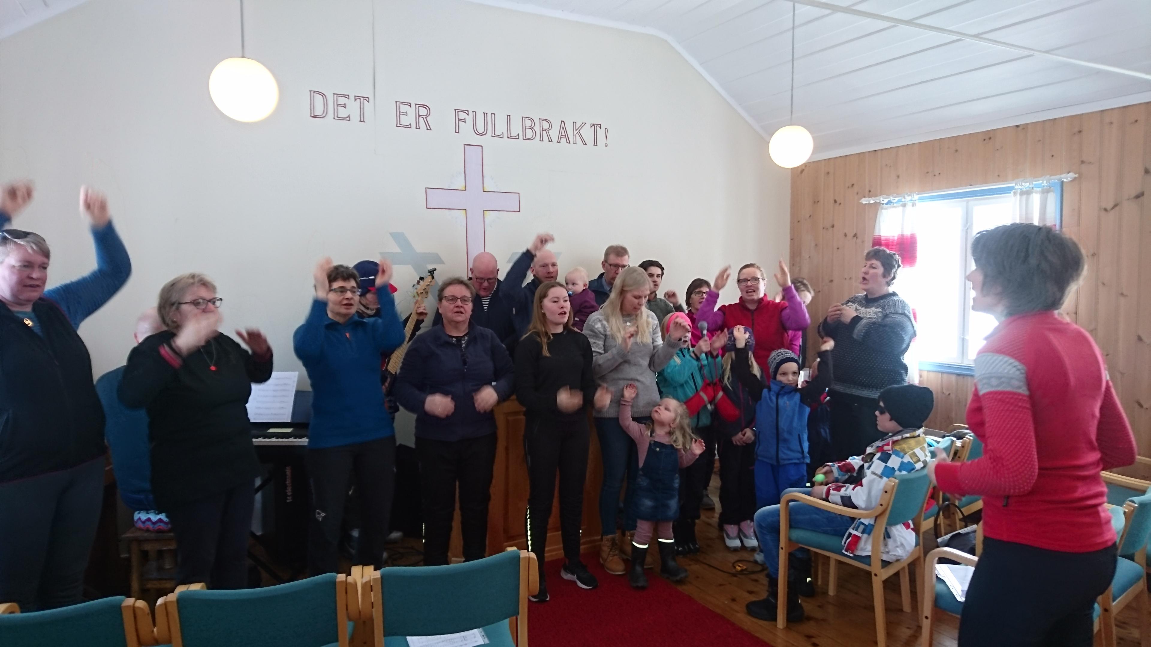 Familiemøte i Betel, Narbvuoll i mars